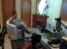 A l'entrevista